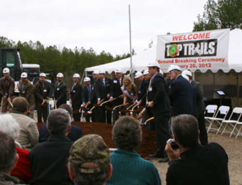 TOP Trails Groundbreaking Draws Big Crowd